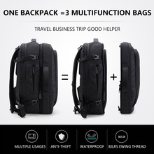 Big Capacity 17 inch Laptop Backpack Multifunction Waterproof Mens Business Travel Back Pack Black Male Quality Computer Bags