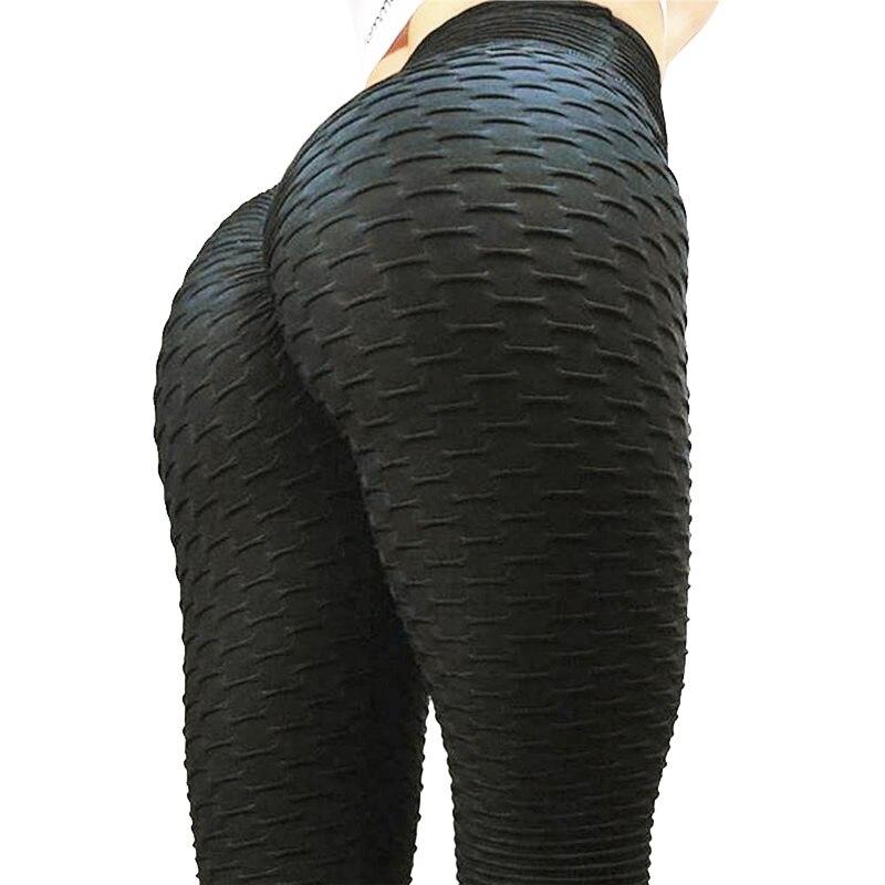 calças leggins feminino padrão dobra push up legging