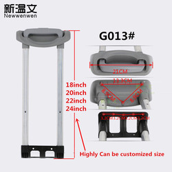Replacement Telescopic Suitcase/luggage Handle,luggage parts handle/Rod,handles for suitcases G013#