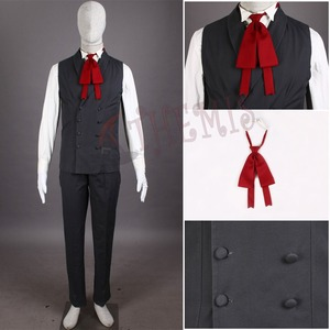 Image 5 - Vampire Hunter Cosplay Hellsing Alucard cosplay Costumes Cool Man Suit and High Cotton Content Long Coat  Best Outfits