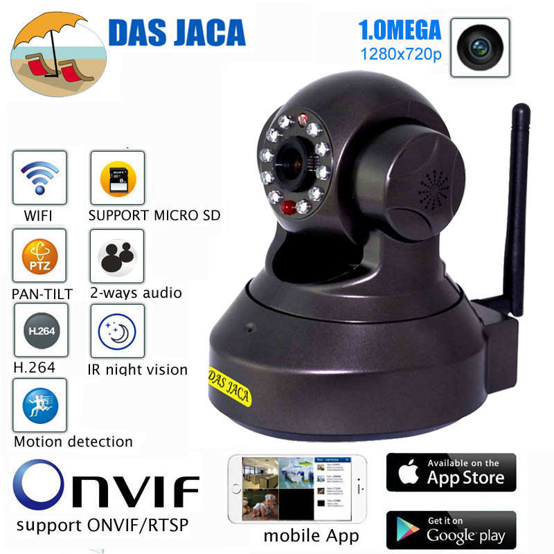 cctv surveillance security camera wireless ip camera 720p 1.0mp hd wifi camera infrared night vision p2p baby monitor ptz ircut