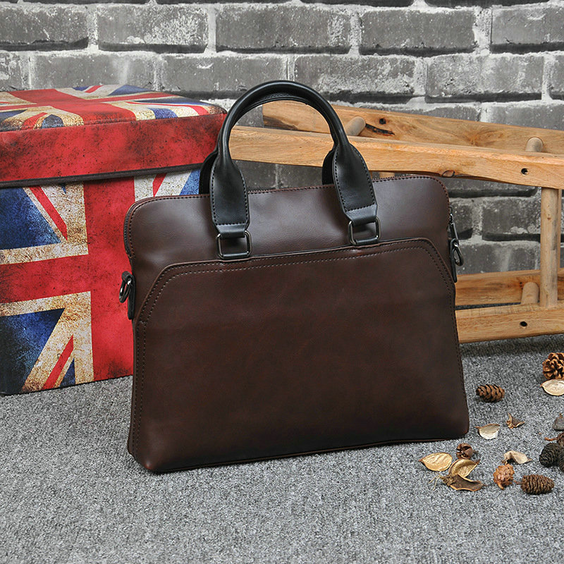 New Design PU Leather Briefcase for Men show