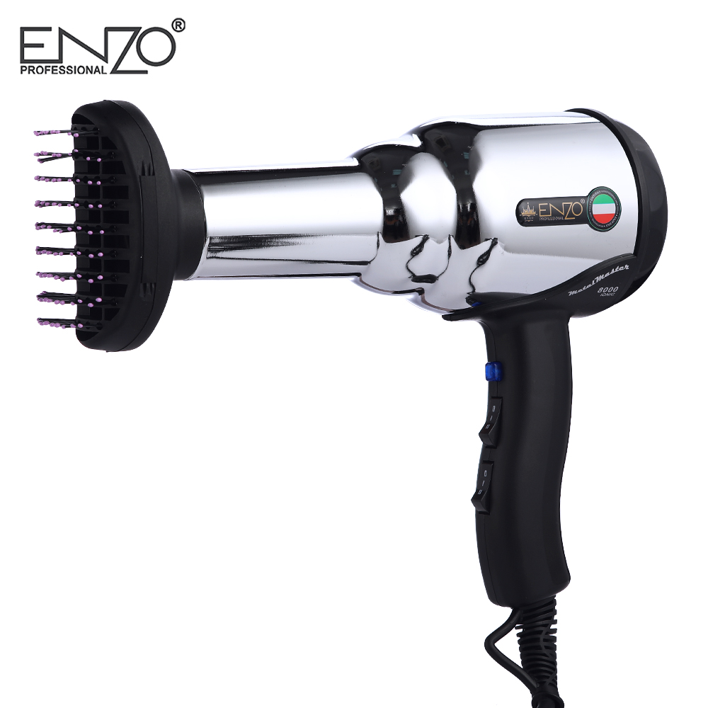 secador de cabelo escova quente frio com ar coleta bico 04