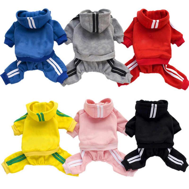 Vêtements de printemps pour chiens chiens chiens | Salopette pour chiens, combinaison d'animaux, chiot chat, manteau de vêtements épais pour chiens, vêtements Chihuahua York