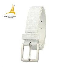 CNYANGCHENG  blanc 150 cm longue ceinture pas cher corset taille ceinture  designer jeans ceintures de mode casual 3 cm simple c. d049b1b4cd7