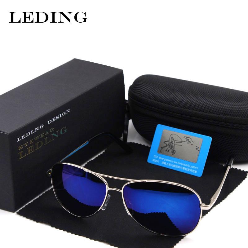 e3e268e3b48 LEDING men s sunglasses polarized Lens spectacles sun glasses for women  Driving Fishing Camouflage top designer brands eyewear
