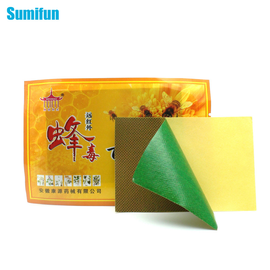 9Bags Sumifun Bee Venom Balm Joint Pain Patch Neck Back -5178