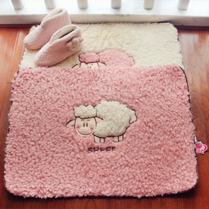 Kawaii Cartoon Floor Rug For Decor Stuffed Bathroom Carpet For Toilet Bed Carpet In Living Room Doormat WC Mat Soft Bathroom Mat