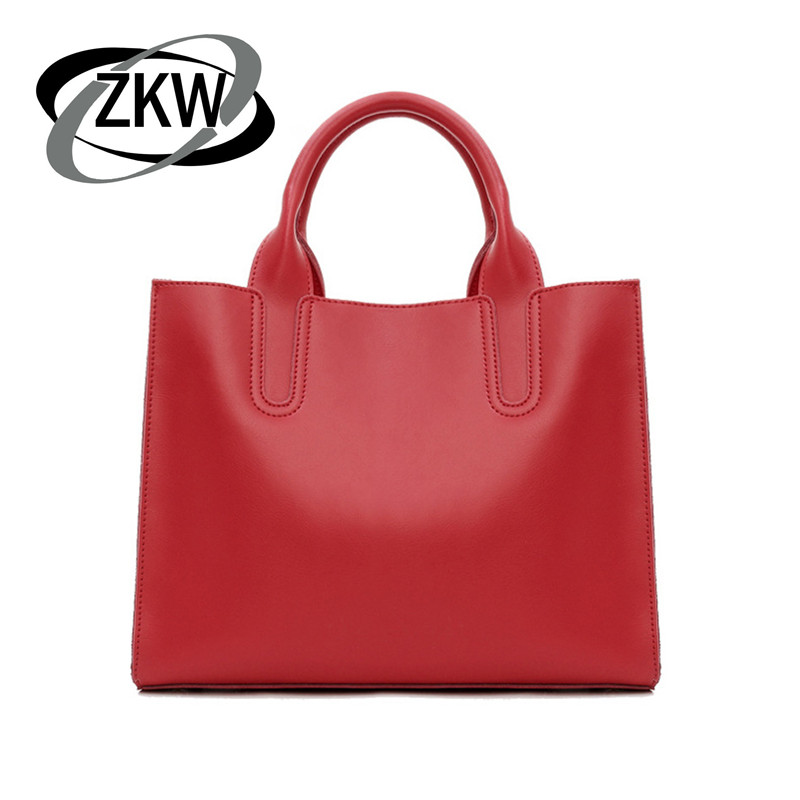 ZKW 2019 Fashionantë lëkure lëkure e vërtetë origjinale ZKW 2019 - Çanta dore - Foto 1