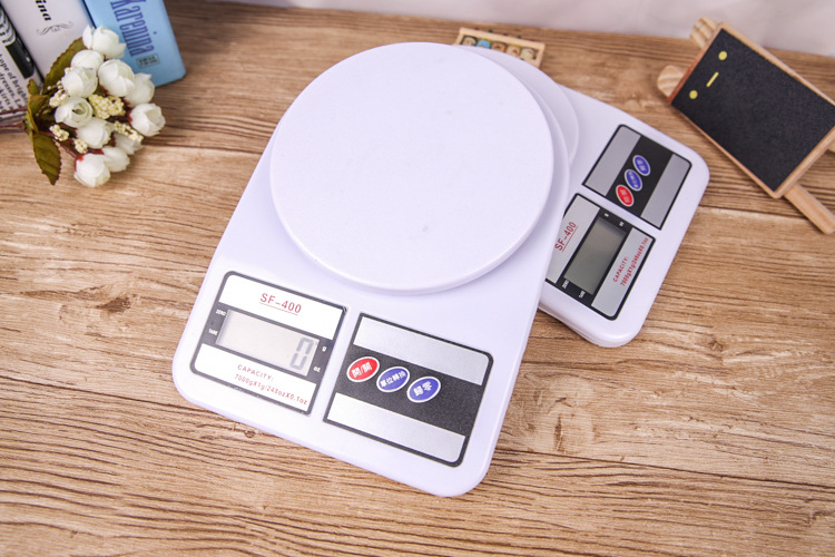 120pcsHigh Precision Home Kitchen 10KG x 1G LCD Display Digital Electronic Balance Scale Household Scales Balance