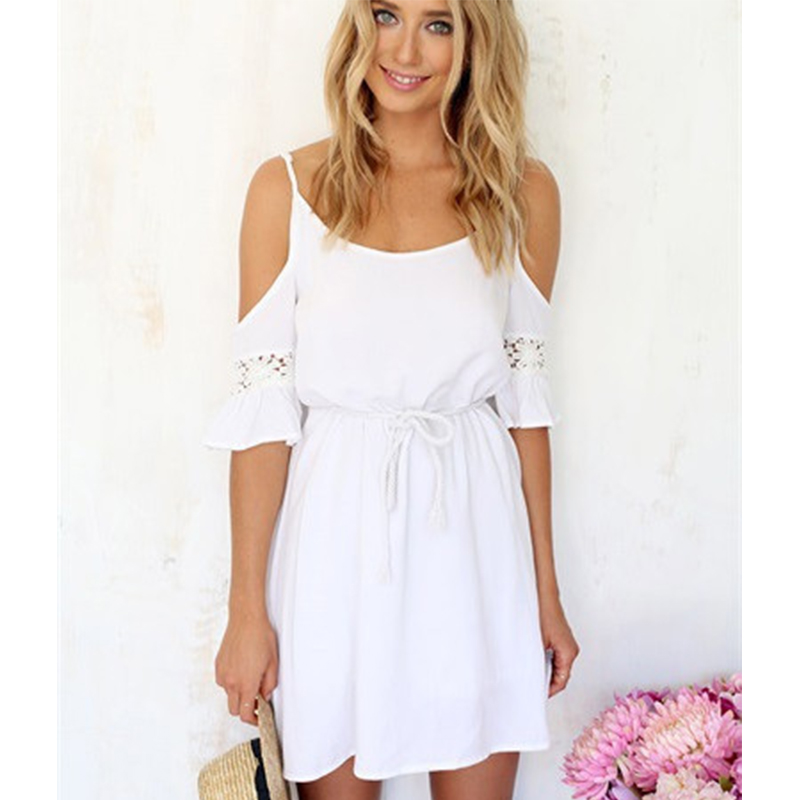 Compare Prices on White Chiffon Summer Dress- Online Shopping/Buy ...