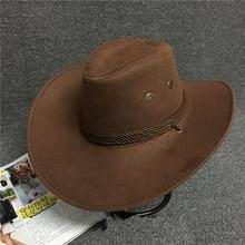 Унисекс хлопковая ковбойская шляпа для путешествий, кепки для выступлений, s ковбойские шляпы для женщин, одноцветные повседневные солнцезащитные козырьки, кепки для женщин и мужчин, крутые Западные Ковбойские шляпы