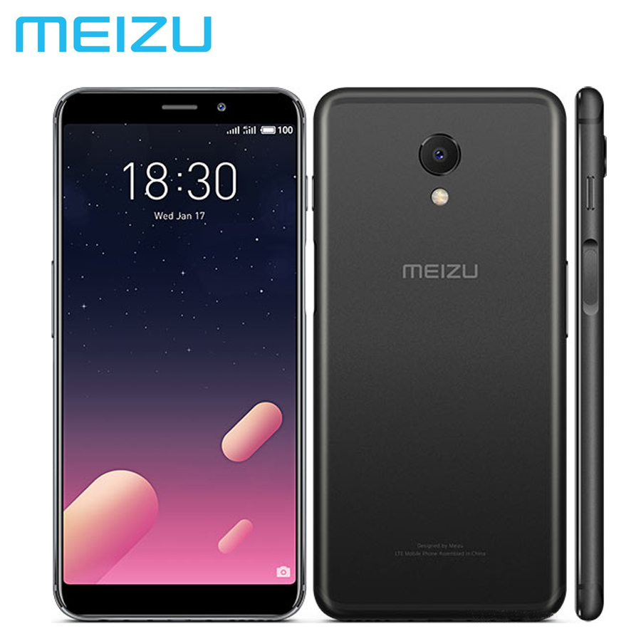Nouveau téléphone Mobile MEIZU M6S MEILAN S6 4G LTE double SIM 16MP Exynos7872 Hexa Core 3 GB RAM 64 GB ROM 5.7