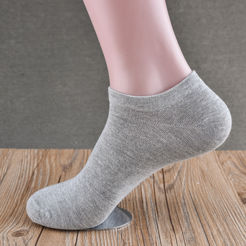 2017 Brand High-Grade 5pairs/lot Sale Men Socks Summer Solid Socks Happy Cotton Socks Bamboo Fiber Socks Meias calcetines