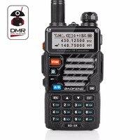 Baofeng RD 5R DMR Tier II VFO Digital Dual Band Dual Slot 136 174 400 470MHz