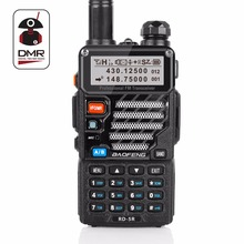 Baofeng RD-5R DMR Tier II VFO Digital Dual Band Dual Slot 136-174 / 400-470MHz To-vejs Radio Walkie Talkie Ham Transceiver