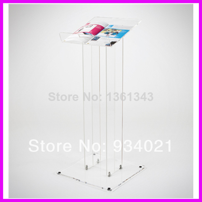 Hot SellingEco-friend Acrylic Podium Pulpit Lectern For School/Church