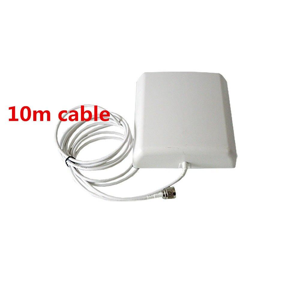 800 MHz ~ 2500 MHz 8dBi 2G/3G CDMA/GSM/DCS/PCS/WCDMA mobile del segnale del ripetitore parete interna antenna Pannello con 10 metri cavo800 MHz ~ 2500 MHz 8dBi 2G/3G CDMA/GSM/DCS/PCS/WCDMA mobile del segnale del ripetitore parete interna antenna Pannello con 10 metri cavo