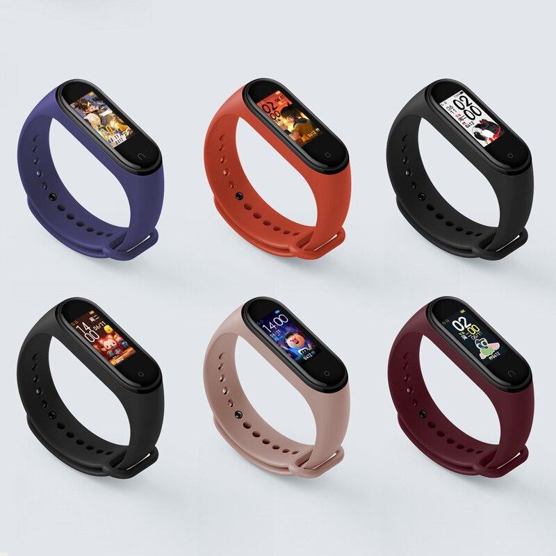 Original Xiaomi Mi Band 4 Smart Band 0.95inch AMOLED  Full Color Screen Bluetooth 5.0 Wristband 50m Waterproof