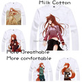 2015 Spice and Wolf Holo Maki T Shirt Anime Japanese Famous Animation Novelty Summer Men's T-shirt Cosplay Costume Clothing