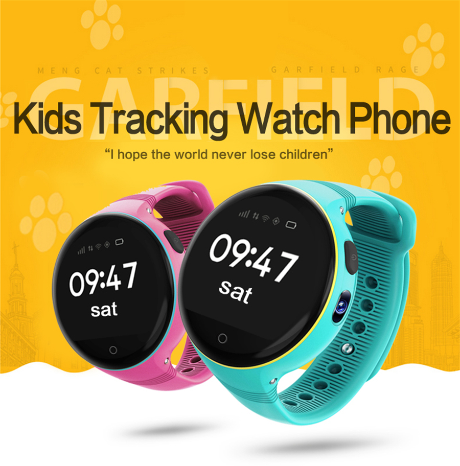 Consumer Electronics Smart Watches 3g Children Smart Watch With Sos Wifi Gps Tracker Touch Screen For Android/ios Gift For Kids Children