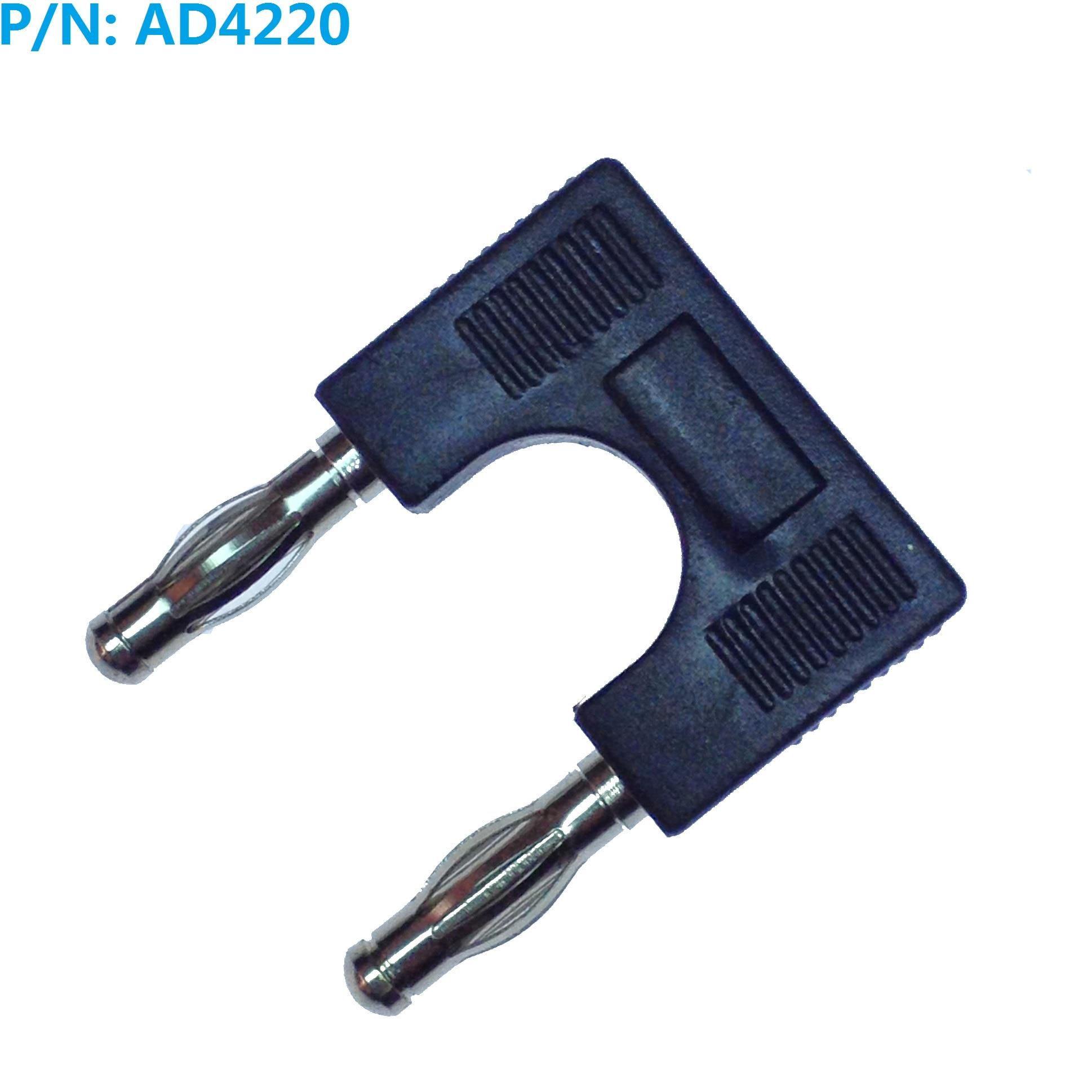 웃 유AD4228 4mm Banana plug bujía en corto 19mm espaciamiento ...