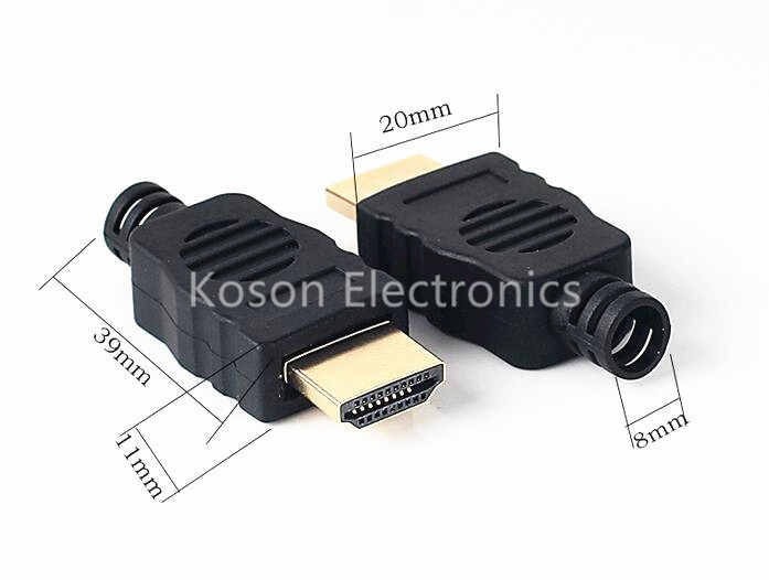 Терминалы передачи разъема HDMI с коробкой