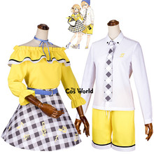 Kagamine Outfit Uniform Tops
