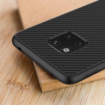 Huawei mate 20 Pro caso NILLKIN Rígido de fibra de Carbono Sintético PP Plástico Tampa Traseira Para huawei mate 20/companheiro 20 Pro casos de cobertura de