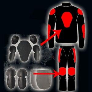 Image 5 - Riding TRIBE ฤดูร้อน/ฤดูหนาว Moto รีไซเคิล Breathable ตาข่าย Moto ป้องกันชายเสื้อสะท้อนแสง Racing Moto แจ็คเก็ต JERSEY กางเกง