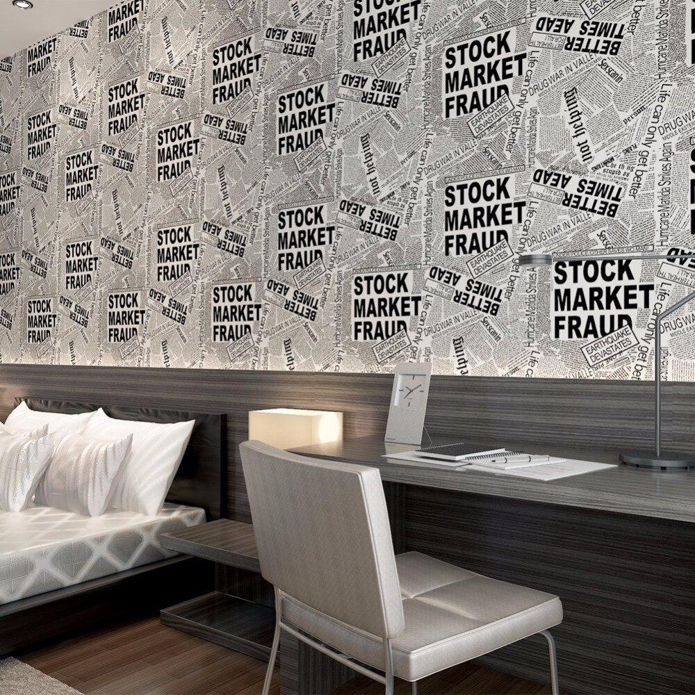 Compra peri dico del vintage wallpaper online al por mayor for Papel pintado periodico