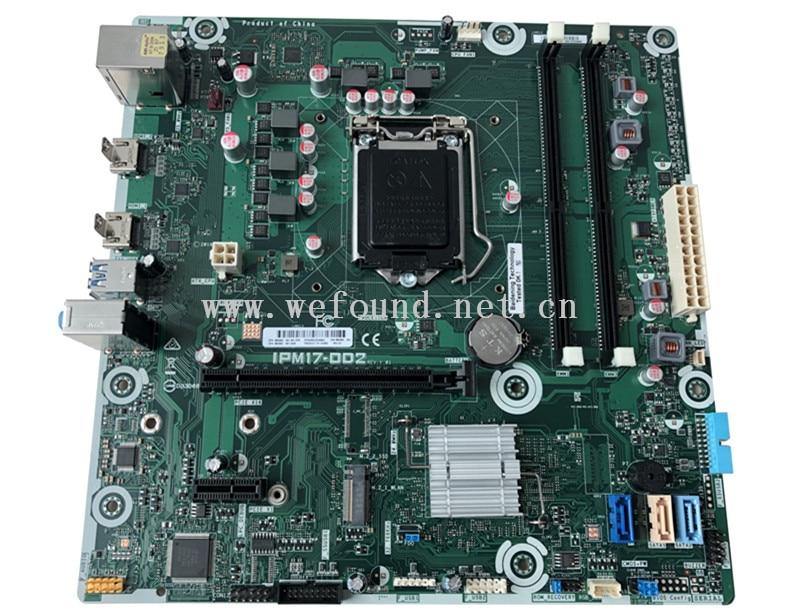 100% Working Desktop Motherboard For IPM17-DD2 REV:1.01 862992-001 862992-601 System Board Fully Tested