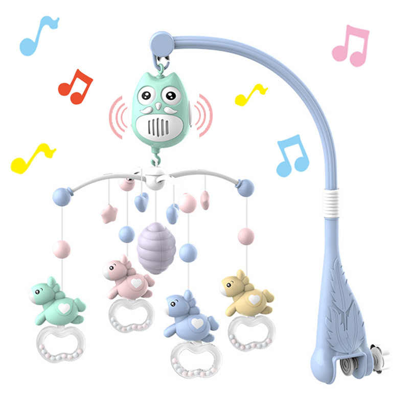 0-12 Months Baby Toy Musical Mobile for Crib Newborn Sleeping Bed Toys