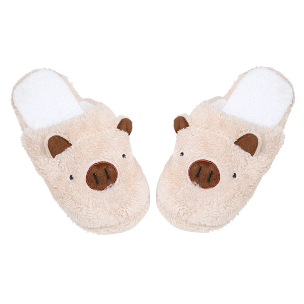 2017 New Arrival Fashion Lovely Pig Home Floor Soft Stripe Slippers Female Shoes Excellent Quality xiniu excellent shell home zsh999 page 2