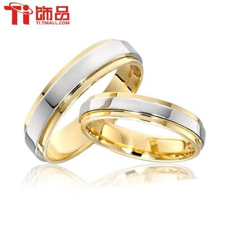 Бесплатная Доставка Супер Дело Размер Кольца 3-14 Titanium Женщина Мужчина обручальные Кольца Кольца Пара, может гравировки (цена указана за одно кольцо)