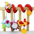 Animal Plush Toy Super Soft Baby Rattles Toy Multifunctional Bed Crib Stroller Car Seat Hangings Travel Toys
