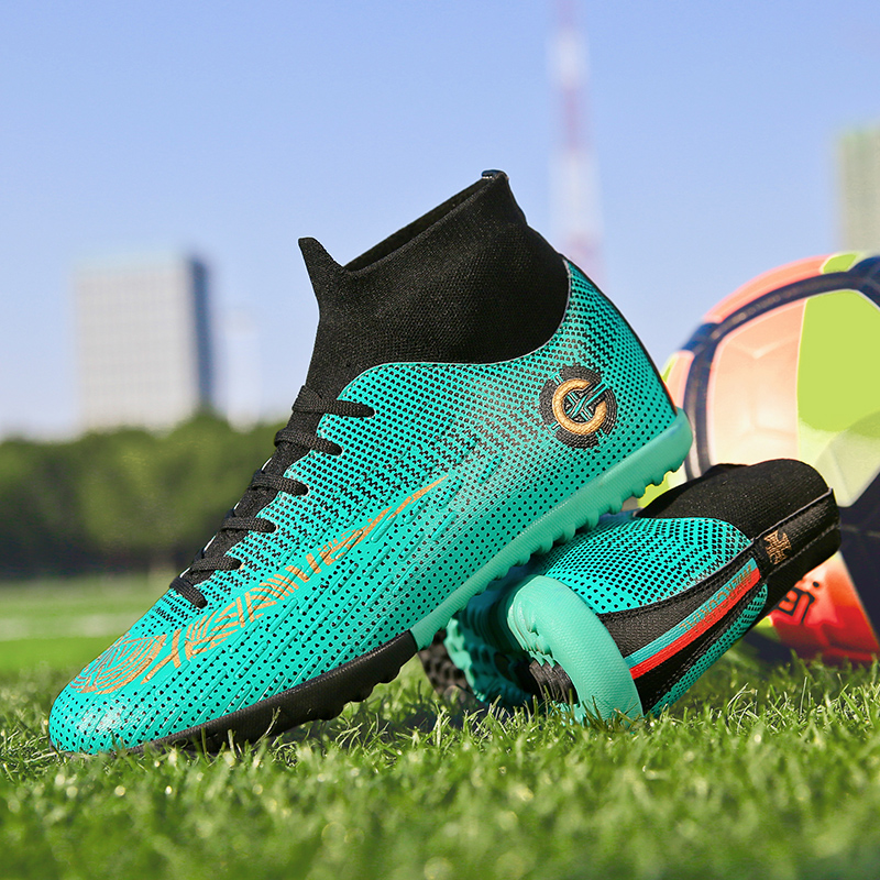 2744e17c6 EAGLE Turf Futsal Boots Indoor Centipede Football Shoes Size 36 45 Kids Man  Soccer Shoes Boots Artificial Grass Cleats Boot from Reliable Soccer Shoes  ...
