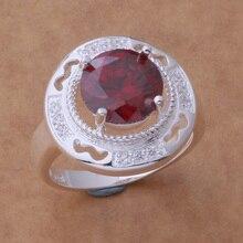 AR434 Hot 925 sterling silver ring, 925 silver fashion jewelry, luxuriant red stone /atqajkxa aukajlra