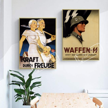 Aliexpress Com Buy Vintage Ww2 Propaganda Poster German Strength