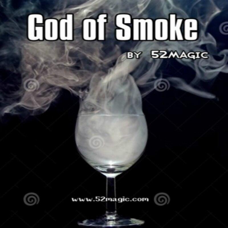 Dieu électronique de la fumée par 52 tours de magie faciles, illusions de magie pour les magiciens, accessoires de tour de magie, kits de magicien gros plan jouet magique
