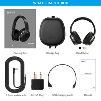 EDIFIER W860NB Bluetooth Headphones ANC Touch control Support NFC pairing and aptX audio decoding Smart Touch wireless earphone 5