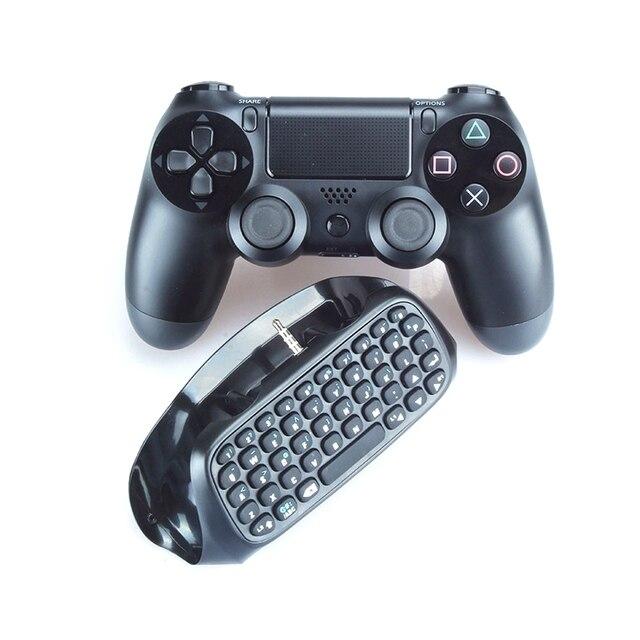 Mini Bluetooth Wireless Keyboard Controller Gamepad Untuk Sony PS4 Bermain Station 4 PS4 untuk Pro untuk PS4 Slim Aksesori Mini Chatpad