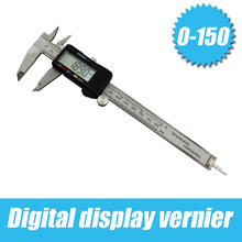 Discount! Mini Digital Caliper,150 mm 6″ Digital CALIPER VERNIER GAUGE MICROMETER,Stainless Steel Measurement Jewelry Tool goldsmith