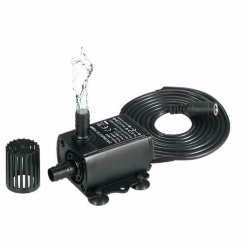 400L/H DC12V Mini Brushless Water Pump Submersibles Water Pumps Camper Caravan Motorhome Boat Garden Home