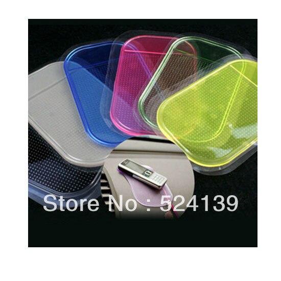 Free shipping 10pcs/lot Wholesale Magic Non slip sticky pad anti slip mat Car Anti slip Pad Washable Durable Use