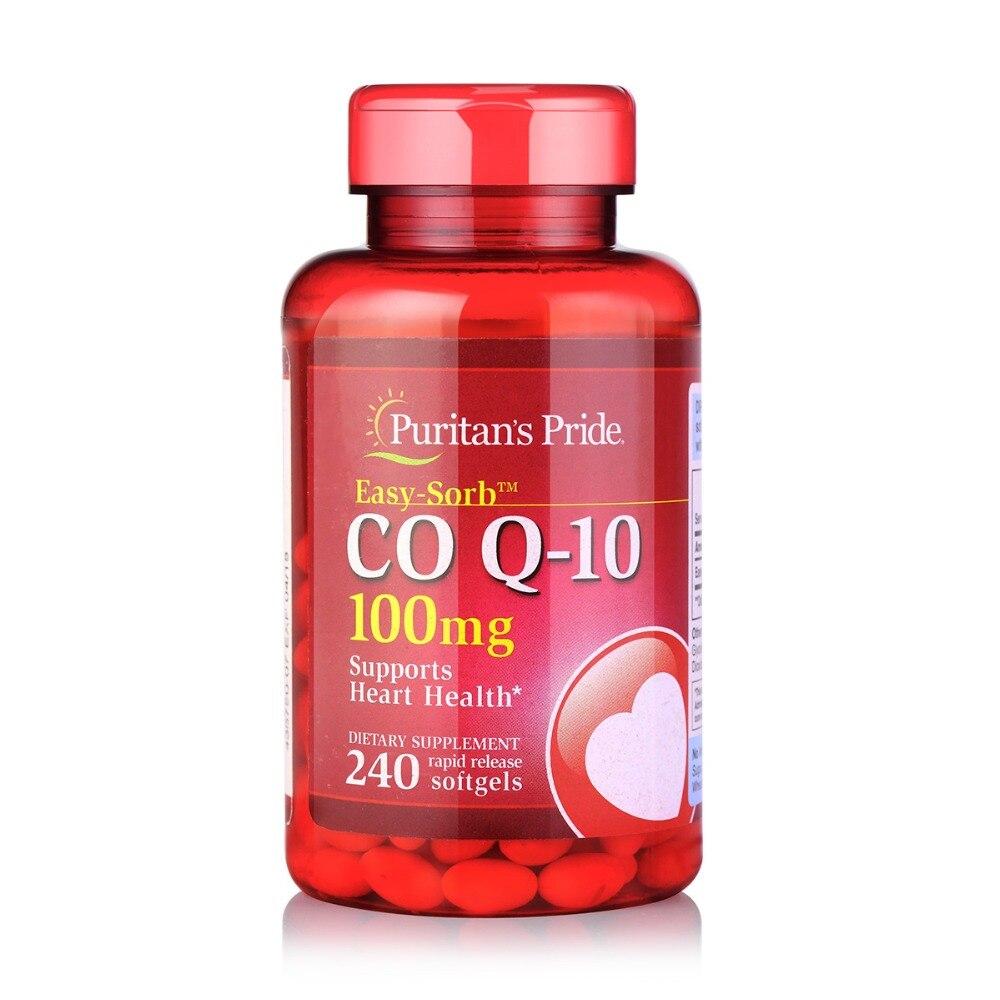 Free Shipping CO Q-10 100 mg supports heart health 240 pcs coq-10 free shipping melatonin 3 mg 240 pcs