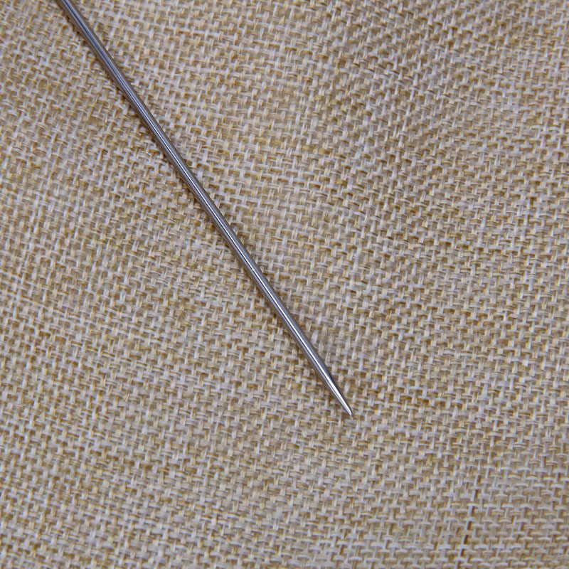 4 шт. большой глаз рук Швейные Иглы Шерсть Толстые вязальщица качество пряжи сильный иглы C42