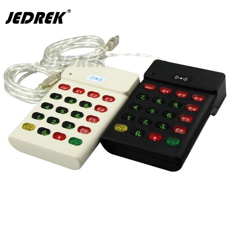 125Khz Rfid Numeric keypad EM Card Reader USB Interface usb pos numeric keypad card reader white page 1