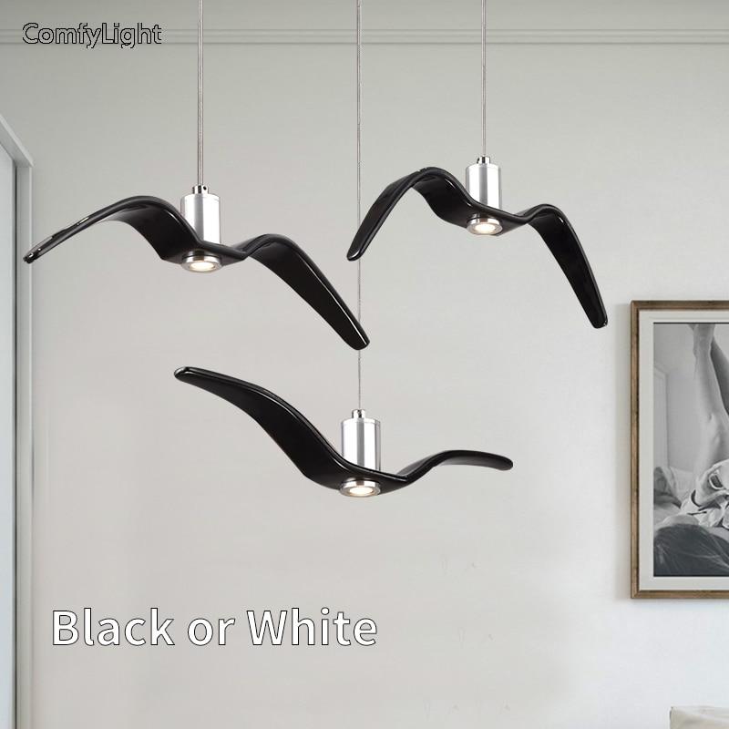 Modern Pendant Lights Led Hanglamp Aluminum Hanging Lighting Fixture Living Room Kitchen Restaurant Loft suspension luminaire