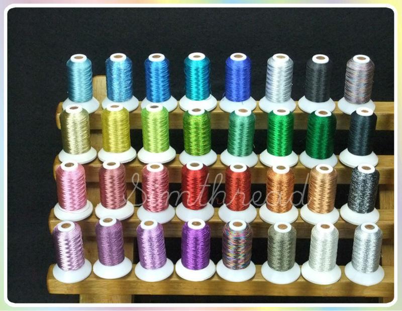 Simthread Metallic Embroidery Machine Thread Non-duplicated 32 - Өнер, қолөнер және тігін - фото 5